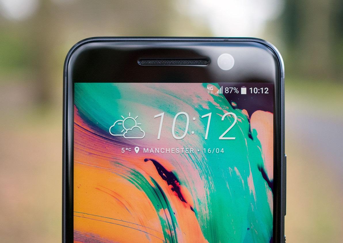Обзор нового флагмана HTC 10 - над экраном