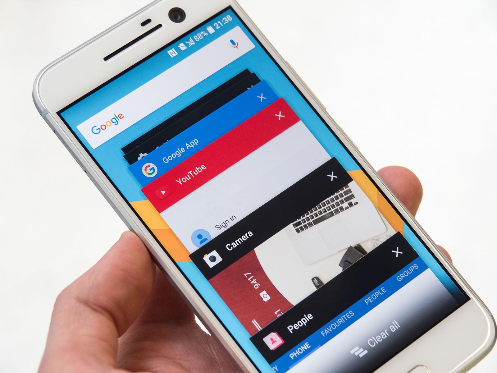 Обзор нового флагмана HTC 10 - программное обеспечение (7)