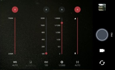 Обзор нового флагмана HTC 10 - режим Pro