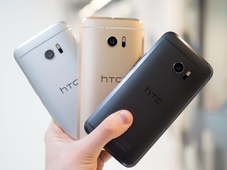Обзор нового флагмана HTC 10 - цвета