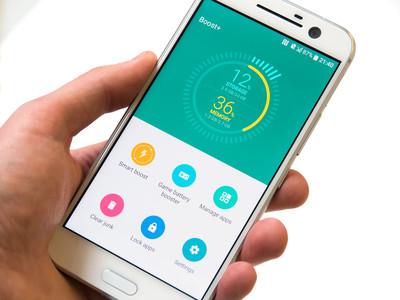 Обзор нового флагмана HTC 10 - утилита Boost