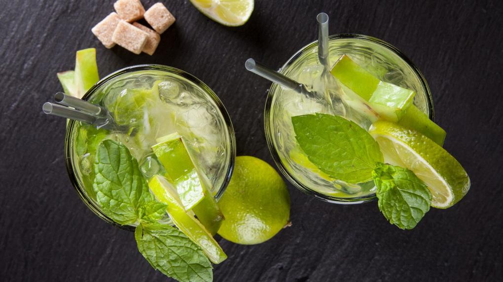 Охлаждающие коктейли-фото