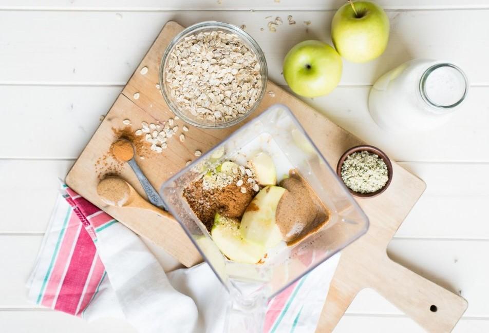 Овсяный смузи с яблоком-ингредиенты фото 2