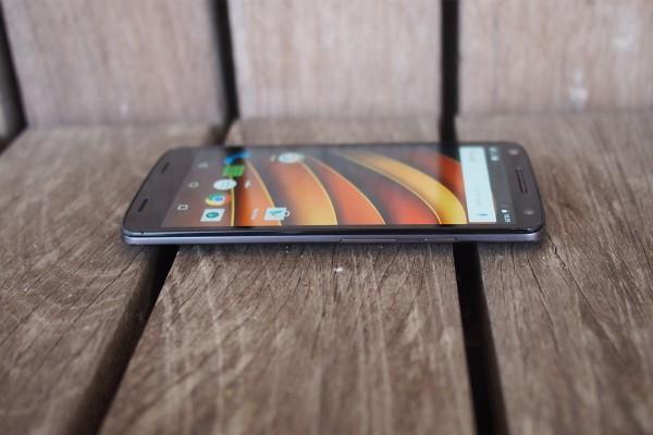 Папка «Фото», Motorola Moto X Force- Кнопки разблокировки и громкости