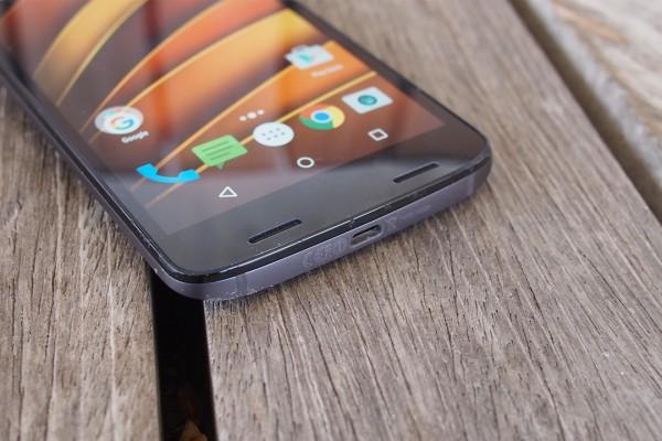 Папка «Фото», Motorola Moto X Force- Сенсорные кнопки управления на экране