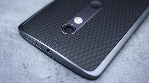 Папка «Фото», Motorola Moto X Force- Верхний торец