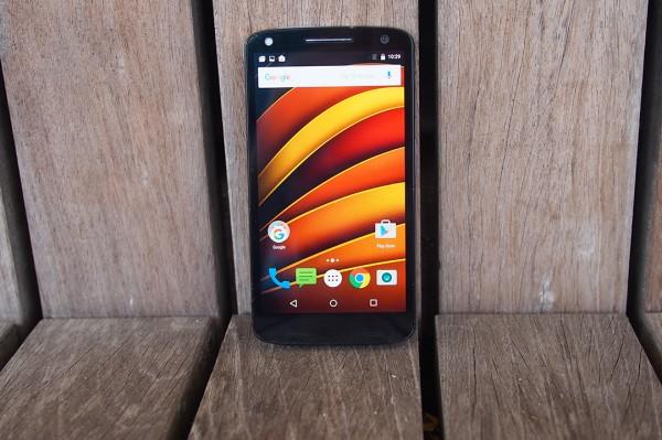 Папка «Фото», Motorola Moto X Force- Вид спереди