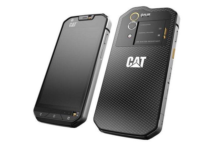 Первый в мире смартфон с тепловизором CAT S60 будет доступен для предзаказа в июне
