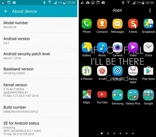 Samsung Galaxy Note 4 обновление - фото 3+4