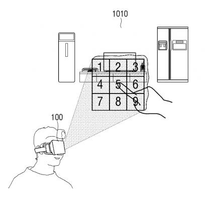Samsung патентует смарт-часы со встроенным проектором - схема (2)