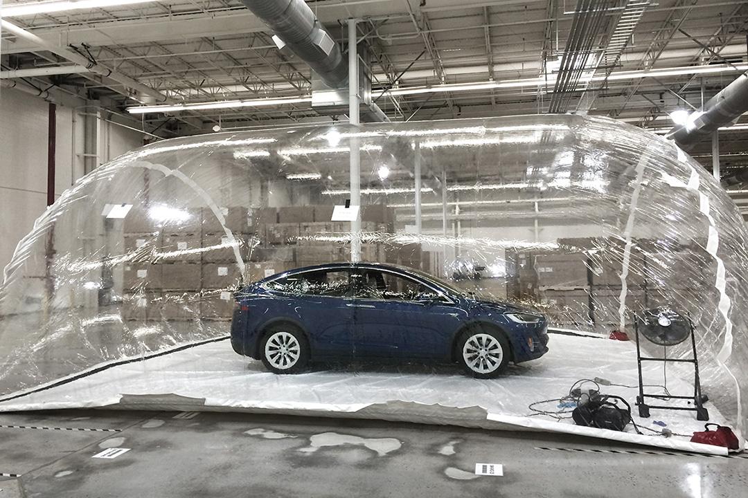 Tesla Model X защитит пассажиров от биологического оружия