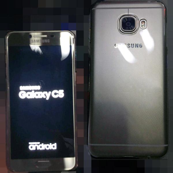 В сеть утекли живые фото смартфона Samsung Galaxy C5 - главное фото