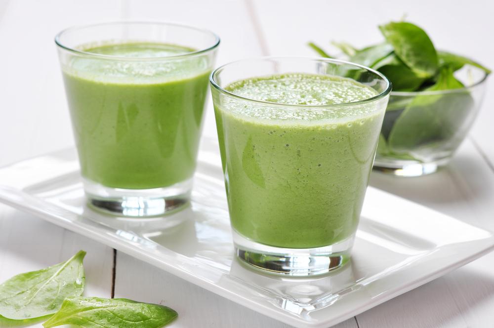 Зеленый смузи-для очищения организма