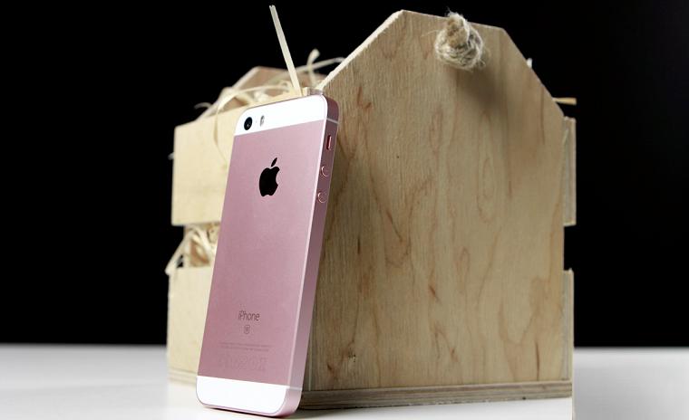 фото iPhone SE-задняя панель