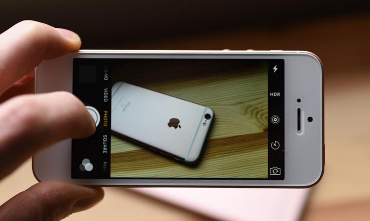 фото iPhone SEкамера