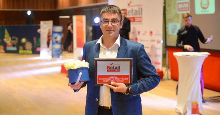 COMFY победитель Retail Awards 2015