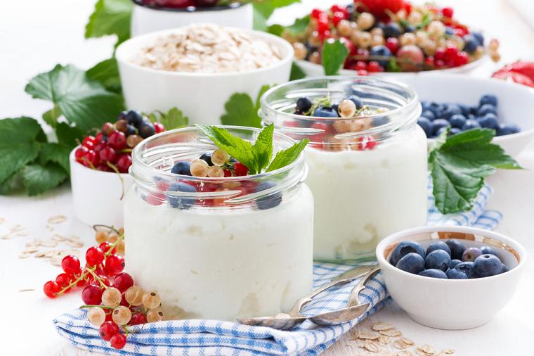 готовый йогурт