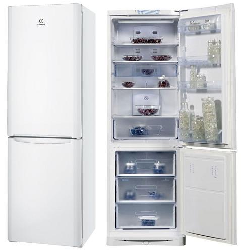 холодильник indesit в стальном цвете