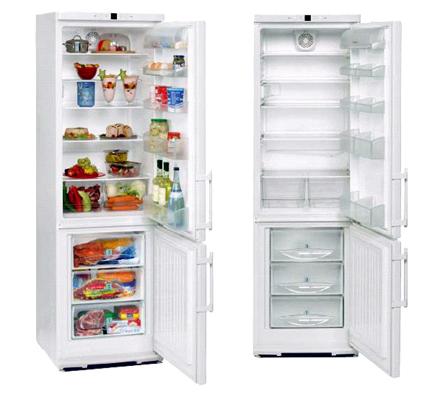 холодильник liebherr на кухне