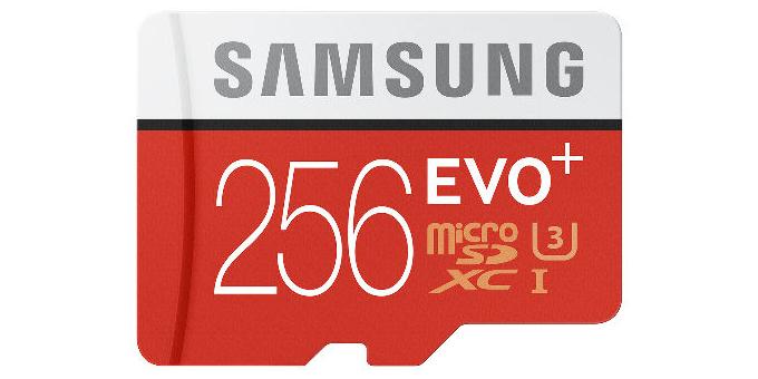 microSD карта памяти Samsung на 256ГБ