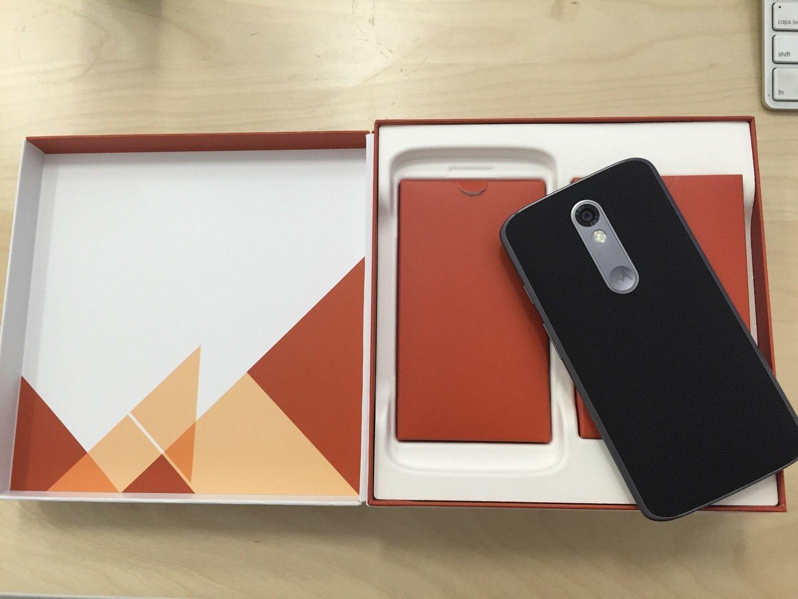 Папка «Фото», Motorola Moto X Force- Комплектация
