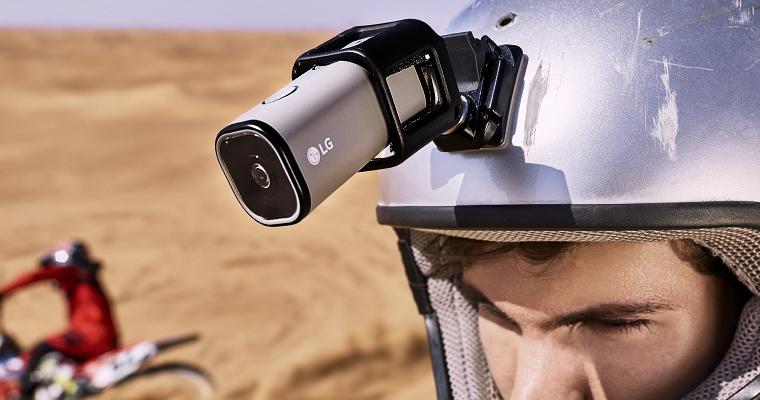 LG представила 4K экшн-камеру с поддержкой LTE