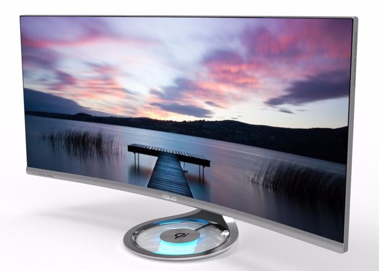ASUS Designo Curve MX34VQ-34-дюймовый монитор углы обзора