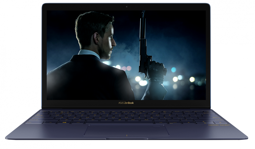 ASUS ZenBook 3-дизайн