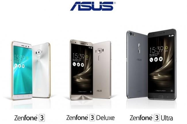 ASUS ZenFone 3-новинки