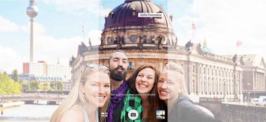 ASUS ZenFone Selfie (ZD551KL)-Панорамные селфи
