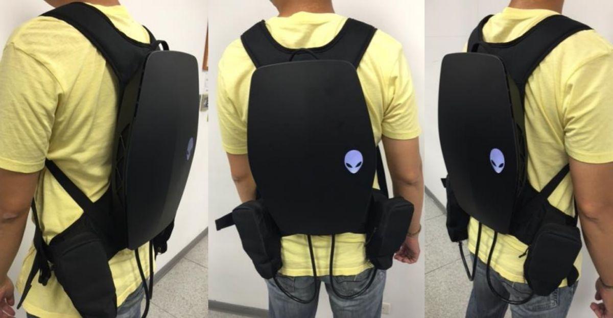 Alienware показала концепт рюкзака для виртуальной реальности - фото 2
