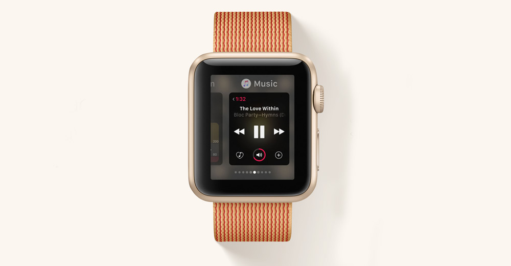 Apple WWDC 2016-WatchOS 3 Music