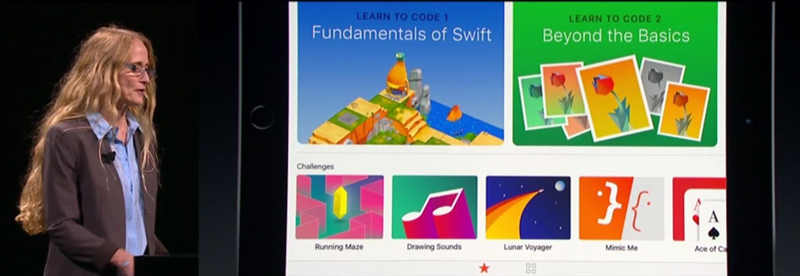 Apple WWDC 2016-о Swift Playgrounds