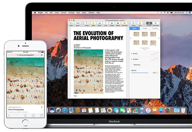 Apple WWDC 2016-синхронизация работы устройств