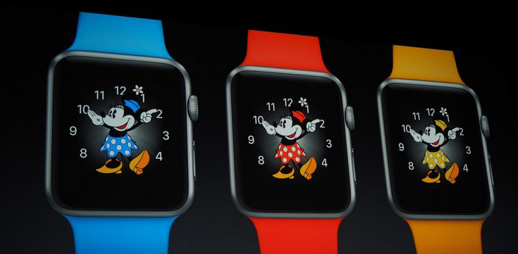 Apple Watch-новые циферблаты Minnie Mouse
