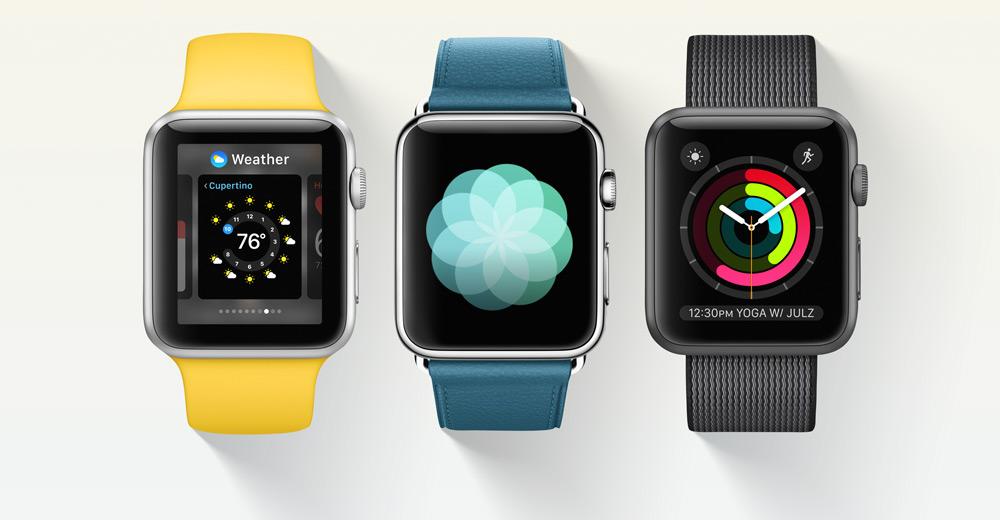 Apple Watch-новые циферблаты