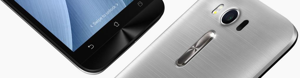 Asus Zenfone Laser-дизайн крупный план