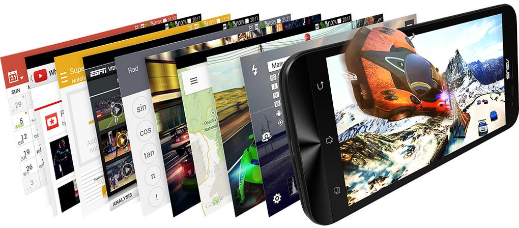 Asus Zenfone Laser-функционал смартфона