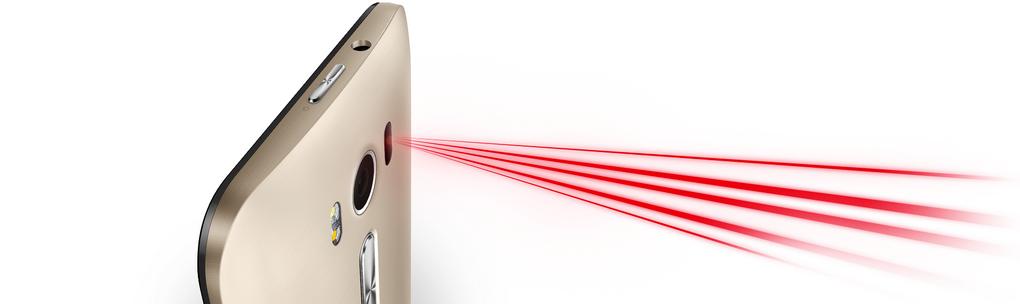 Asus Zenfone Laser-лазерная фокусировка