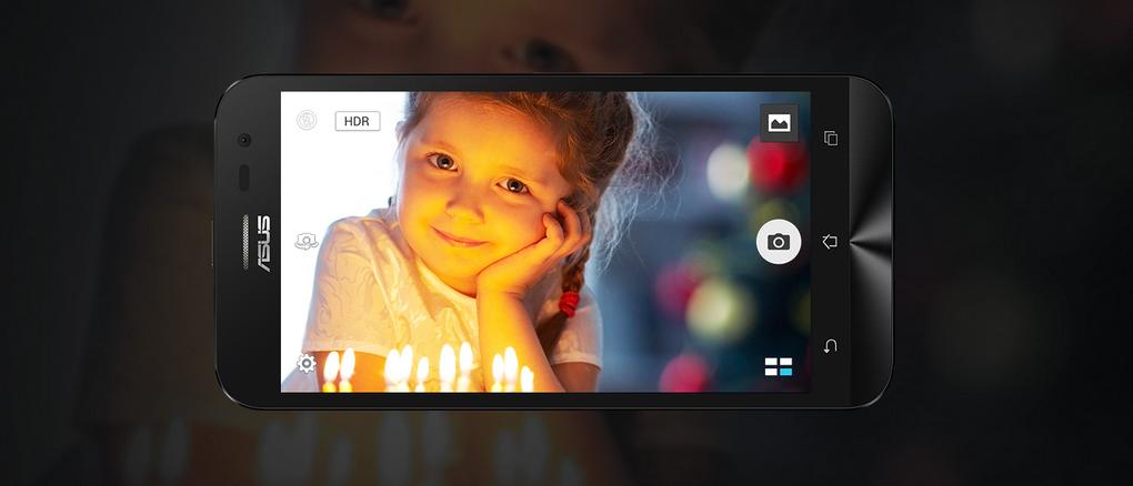 Asus Zenfone Laser-съемка при плохом освещении