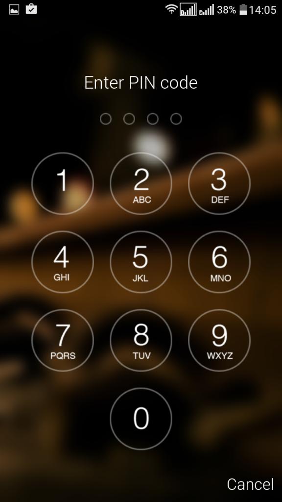 пароль на фото в смартфоне вас большой