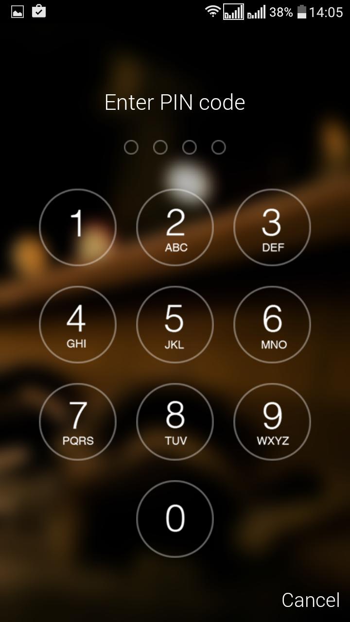 Как сделать так, чтобы ваш Android-смартфон выглядел, как iPhone - Passcode Lock Screen (2)