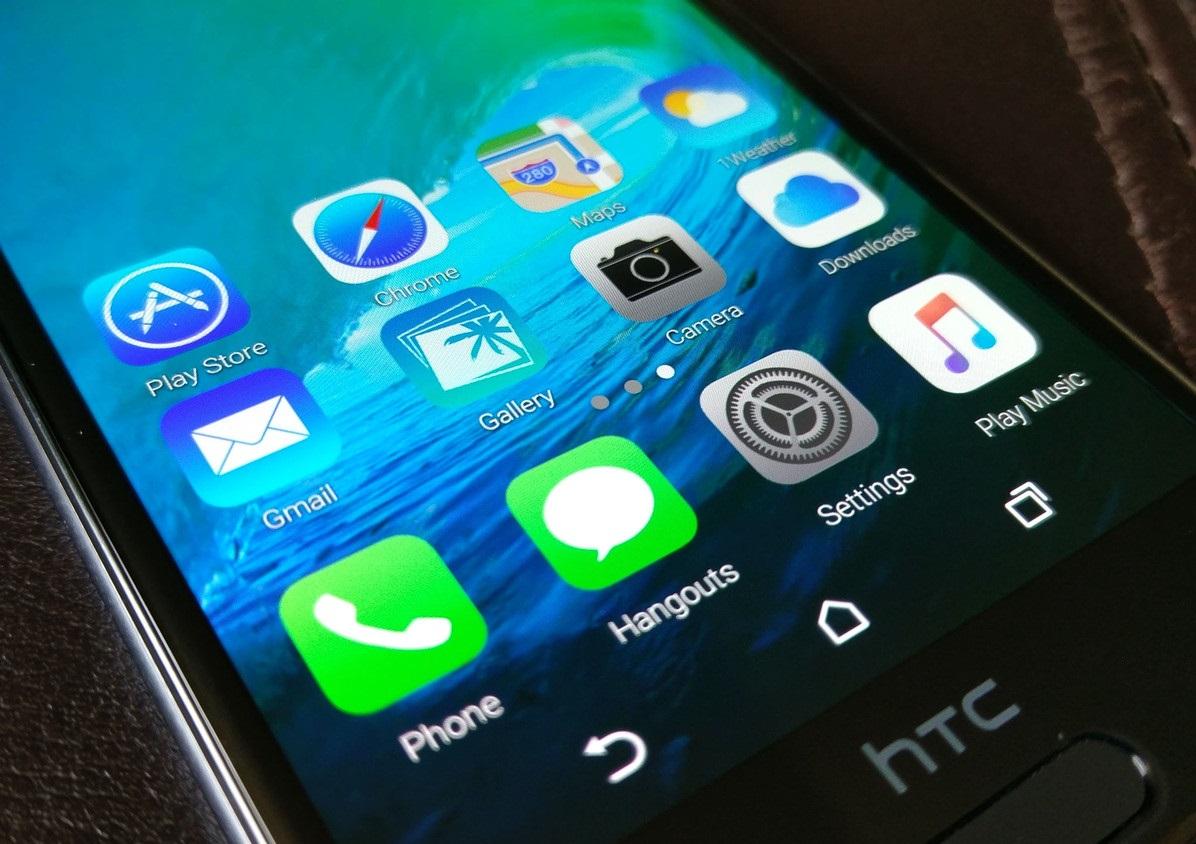 Как сделать так, чтобы ваш Android-смартфон выглядел, как iPhone - iOS значки