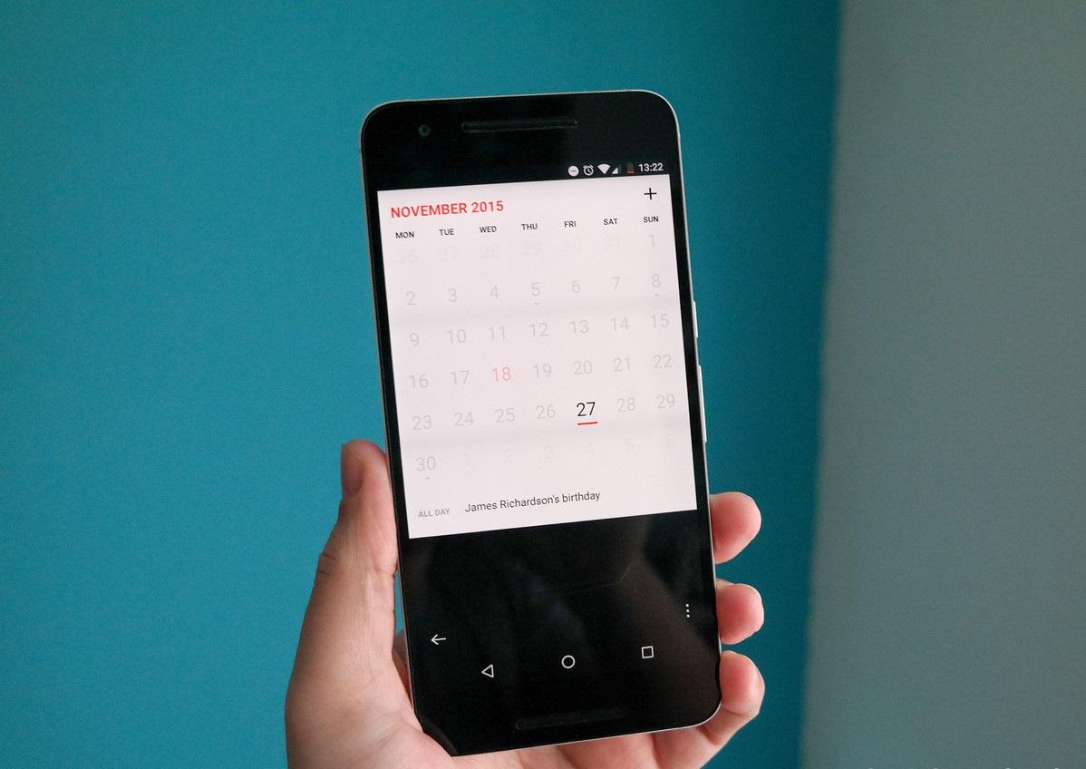 Как сделать так, чтобы ваш Android-смартфон выглядел, как iPhone - календарь