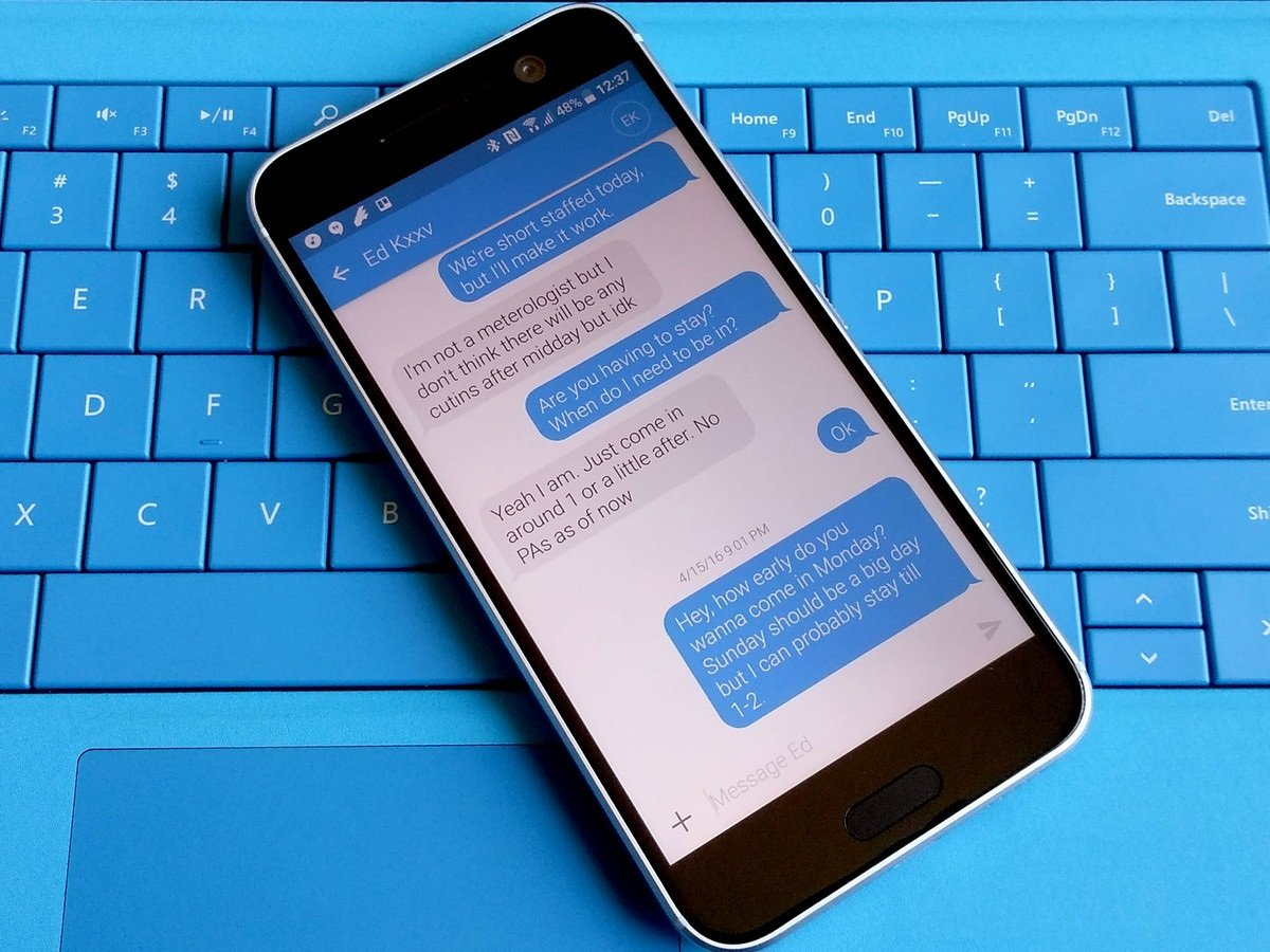 Как сделать так, чтобы ваш Android-смартфон выглядел, как iPhone - сообщения