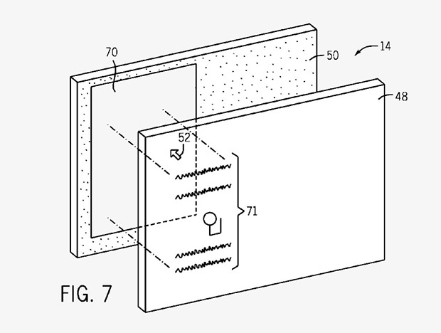 Компания Apple патентует прозрачный экран - патент