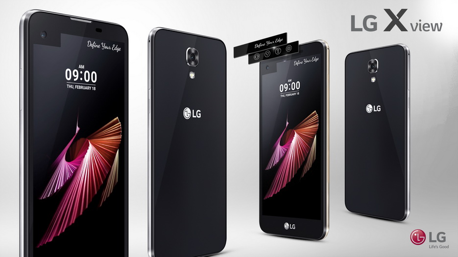 LG X View-Особенности