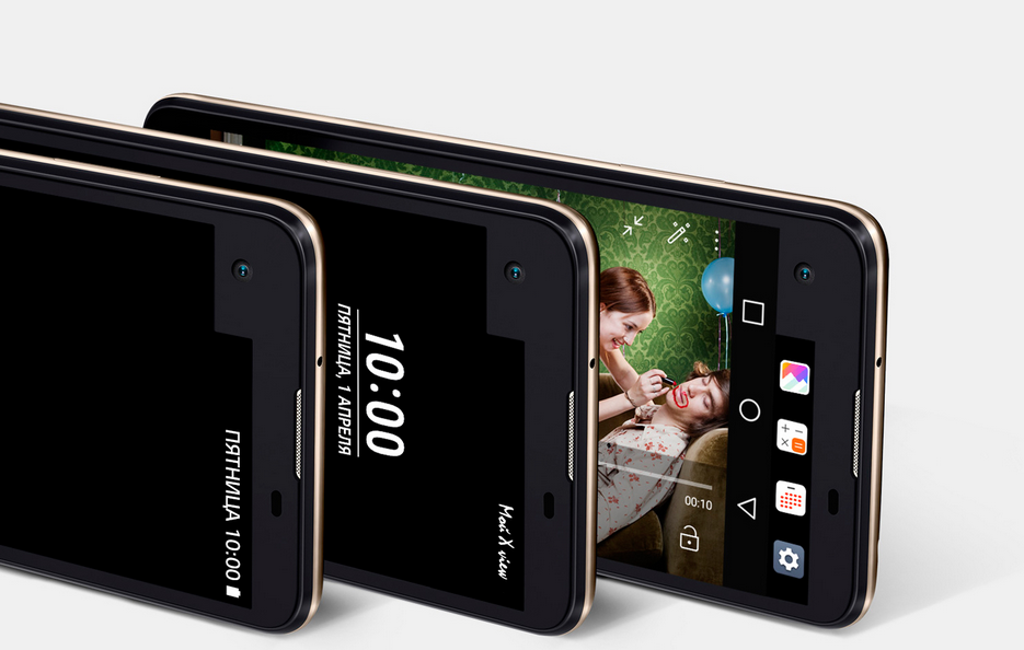 LG X View- Постоянно активный второй дисплей