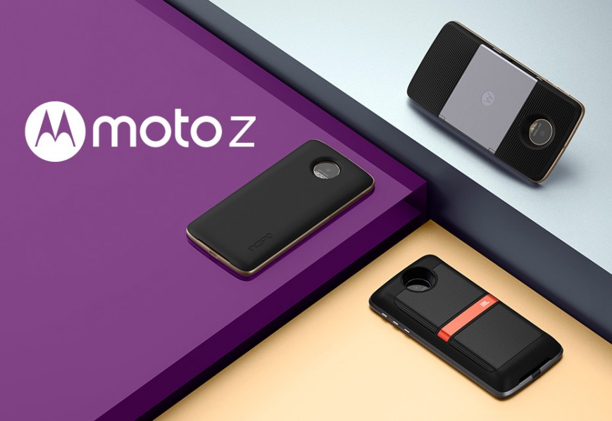Lenovo Tech World 2016-новинки Moto Z