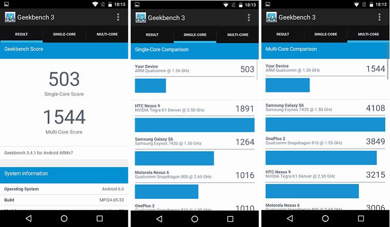 Motorola Moto G-тесты производительности скриншот 11 12 13